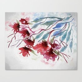 Weeping Red Canvas Print