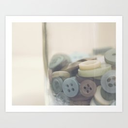 In the Button Jar Art Print