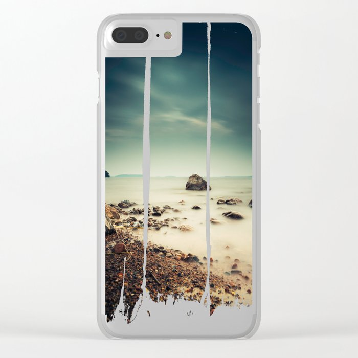 The rebel II Clear iPhone Case
