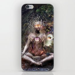Sacrament For The Sacred Dreamers iPhone Skin