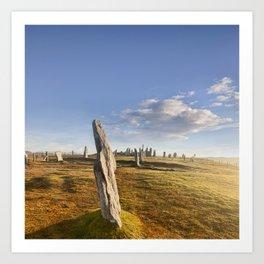 Standing Stones, Callanish Art Print