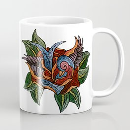 Sparrow Rose One Remix Coffee Mug