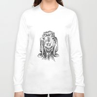 goat Long Sleeve T-shirts featuring Goat by Sarah Mosser
