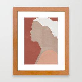 On my Side Framed Art Print