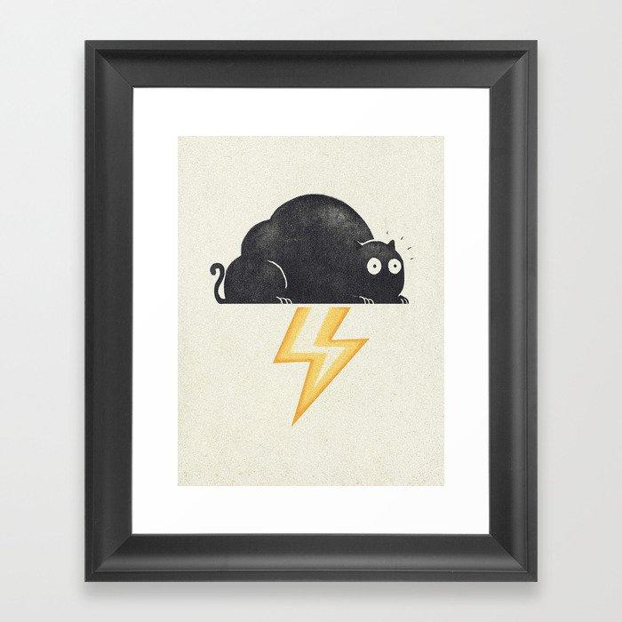 The Thunder Cat Framed Art Print