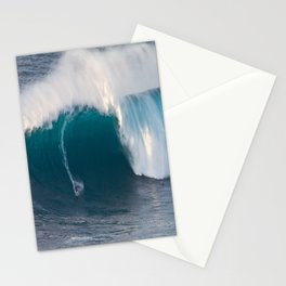 "Surfing ""Jaws"" (Pe'ahi) Stationery Cards"
