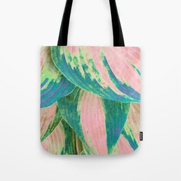 Hosta Multicolor Tote Bag