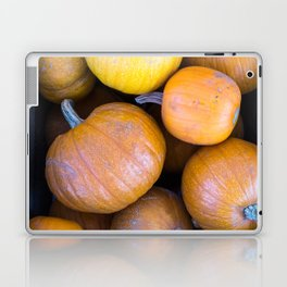 Pile of pumpkins Laptop & iPad Skin