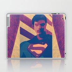 Retro Superman Laptop & iPad Skin