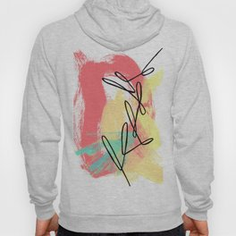 Abstract Modern Minimal - Where Is Your Passion series no.4 Hoody