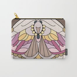 Moth - Eublemma purpurina Carry-All Pouch