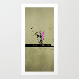 PINK_HERO_SERIES_1 Art Print