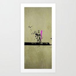 PINK_HERO_SERIES_1 Art Print