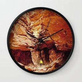 The Stillness Comes Wall Clock