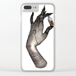 Symbolism Hand Clear iPhone Case