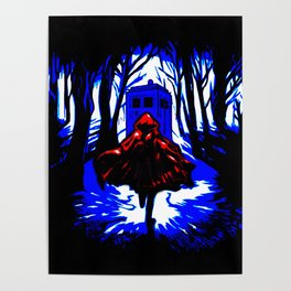 Shadow Light Of Tardis Poster