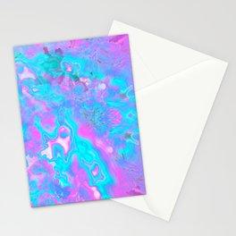 Pastel Hologram Stationery Cards