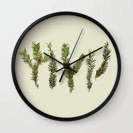 COMPOSIZIONE FOGLIE III Wall Clock