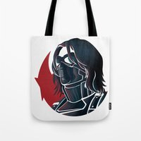 bucky Tote Bags featuring Bucky by Charleighkat