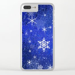 Chillin flakes Clear iPhone Case