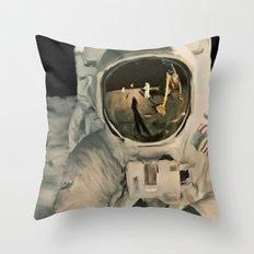LIFE MAGAZINE: Moon Landing Throw Pillow