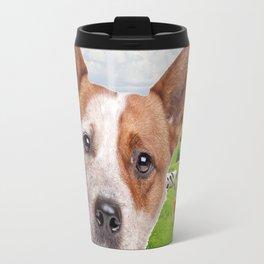 Australian Cattle Dog Red Travel Mug