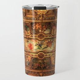 Midnight with Botticelli, Raphael, Michelangelo, & Perugino, Sistine Chapel, Rome Travel Mug