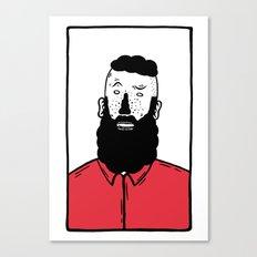 BearD Guy Canvas Print
