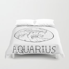 Aquarius Duvet Cover
