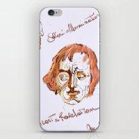 mozart iPhone & iPod Skins featuring Mozart & Salieri by MENAGU'