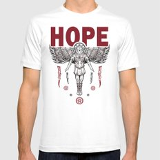 Hope Mens Fitted Tee White MEDIUM