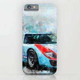 1966 GT40 iPhone Case