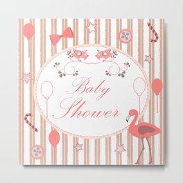 Baby Shower Metal Print