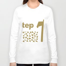 Tep Triangles Long Sleeve T-shirt