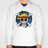 luffy Hoodies featuring On pirate by le.duc