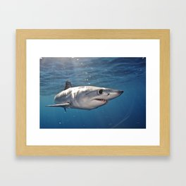 What Big Eyes You Have Framed Art Print