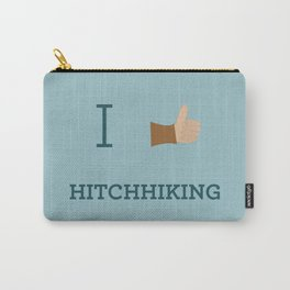 I heart Hitchhiking Carry-All Pouch