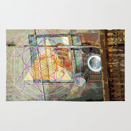 Sacred°Kitchen^CosmicCreationSoup Rug