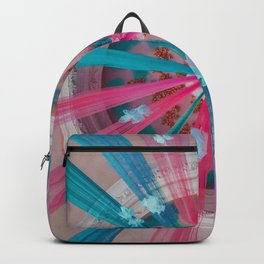 Blue and Pink Ribbon (Color) Backpack