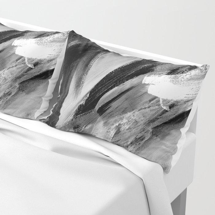 Abstract Artwork Greyscale #1 Pillow Sham