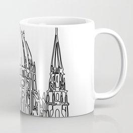 """"""" Travel Collection """" - Budapest Print Coffee Mug"""