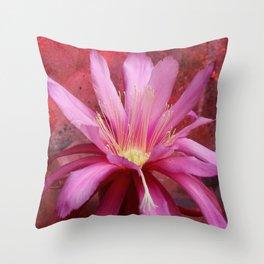 Cacto-luminescence Throw Pillow