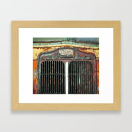 this is just a grill Framed Art Print