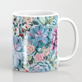 Succulents - For the Memory of a Never-ending Love Coffee Mug