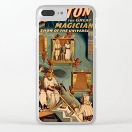 Thurston Magician Clear iPhone Case