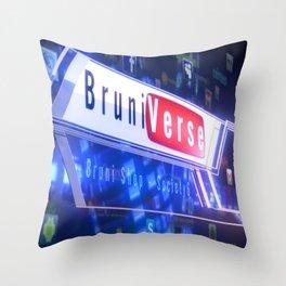 BS tech Throw Pillow