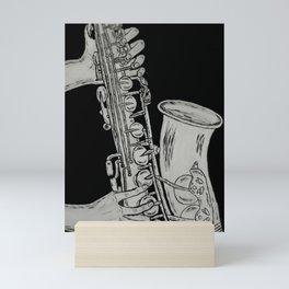Sax Mini Art Print