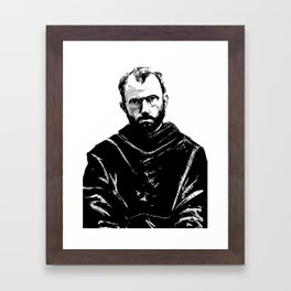 St Maximilian Kolbe Framed Art Print