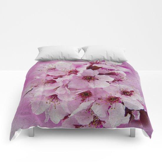 Cherry blossom #6 Comforters