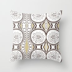 Spin & Spin Throw Pillow